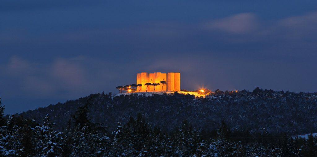 Vista su Castel del Monte