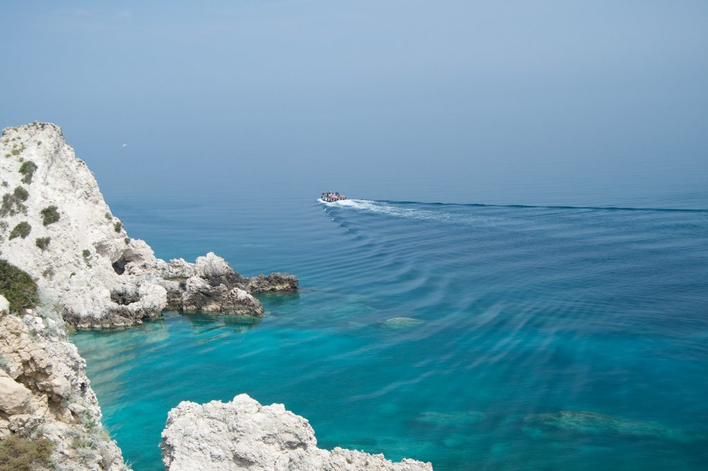 Isole Tremiti in barca