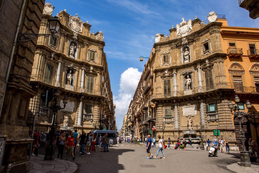 Piazza i Quattro Canti