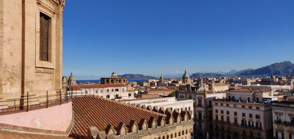 Vista dai tetti della Cattedrale