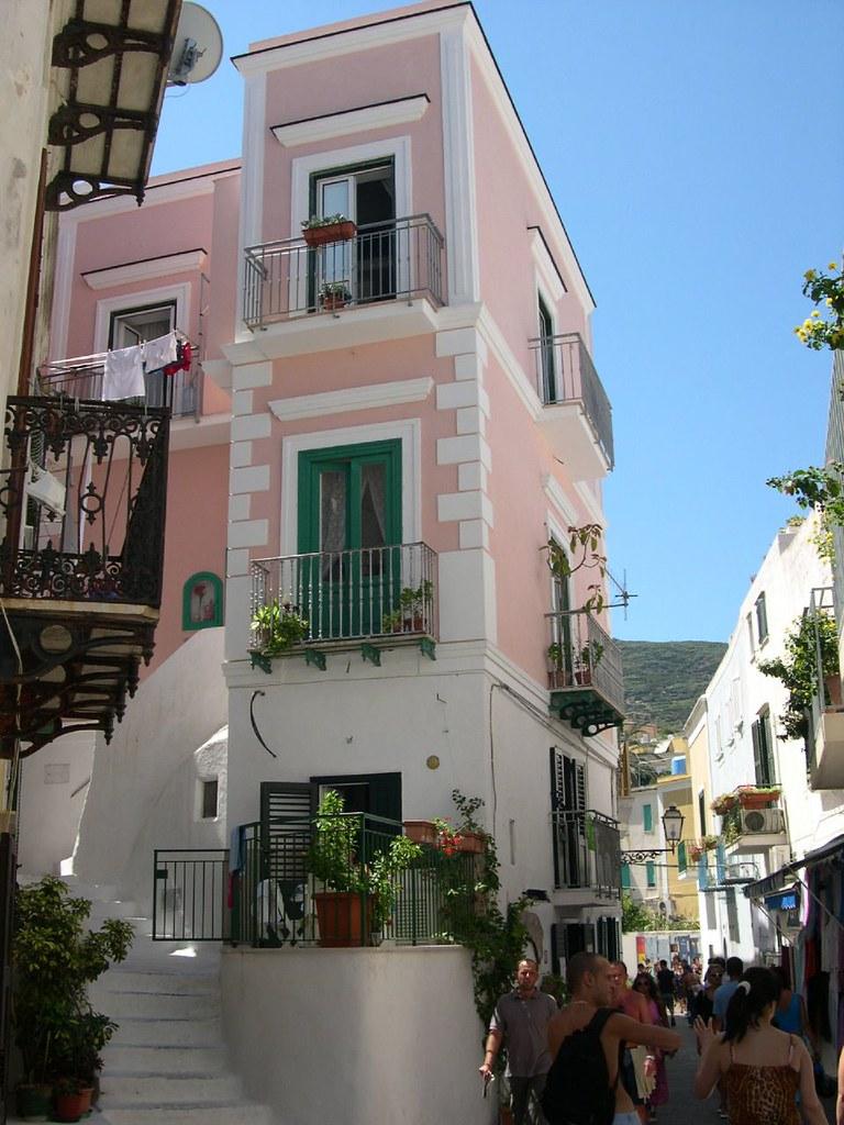 Centro storico di Ponza